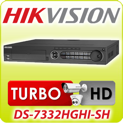 DVR STAND ALONE HIKVISION TURBO HD-TVI DS-7332HGHI-SH