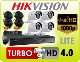 KIT DE SEGURIDAD HIKVISION TURBO HD 4.0