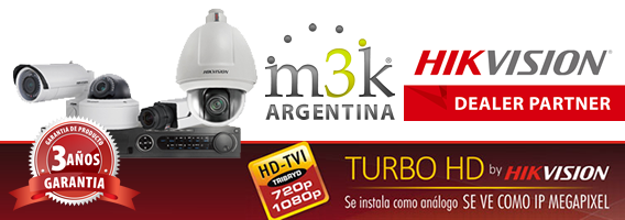 KIT DE SEGURIDAD HIKVISION TURBO HD TVI - M3K Argentina